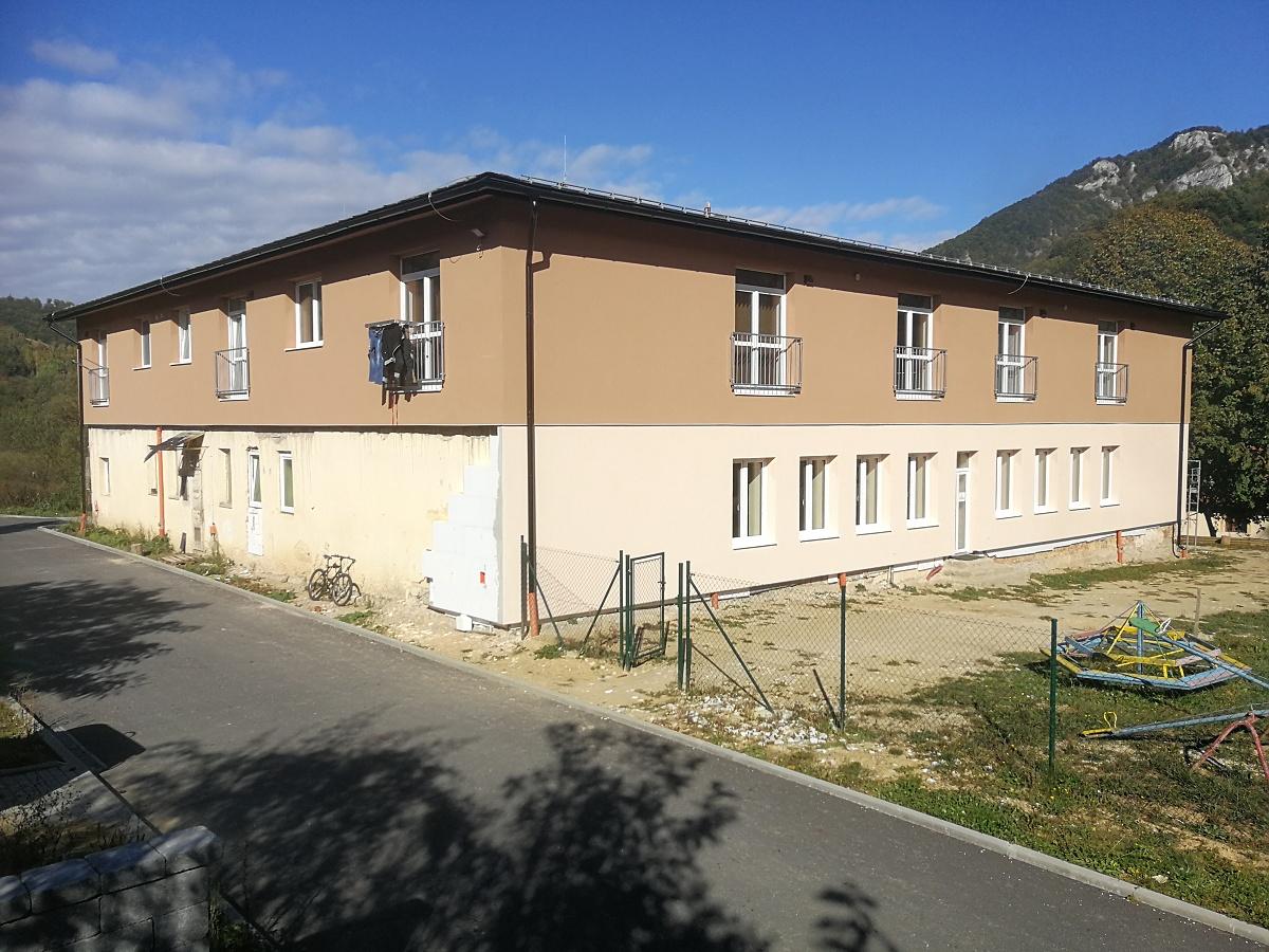 Rekonštrukcia fasády materskej školy