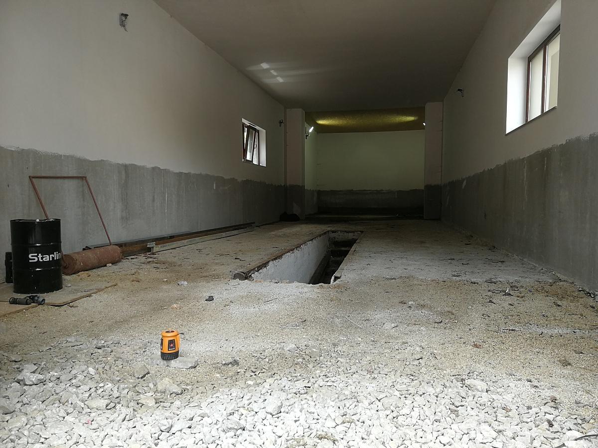 Rekonštrukcia interiéru budovy SAD