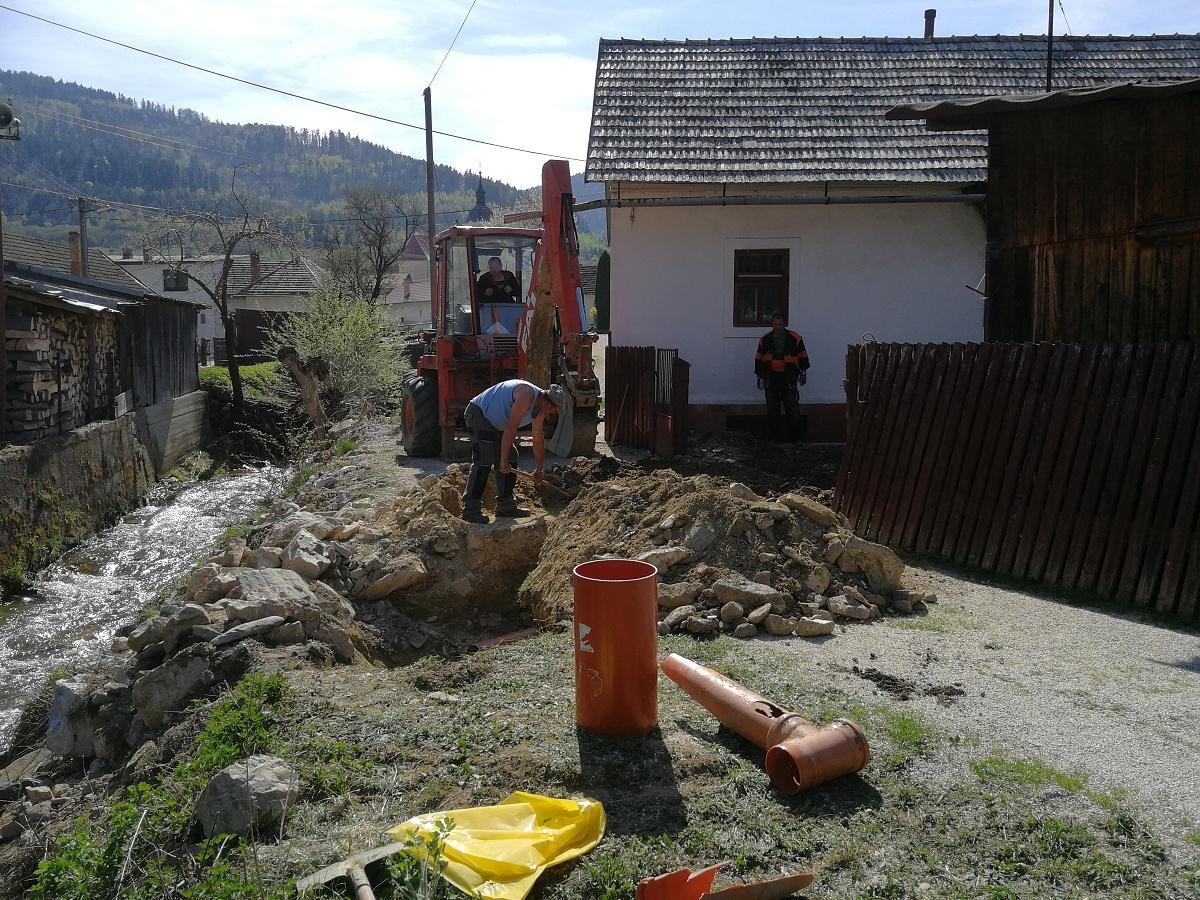 Výstavba kanálu