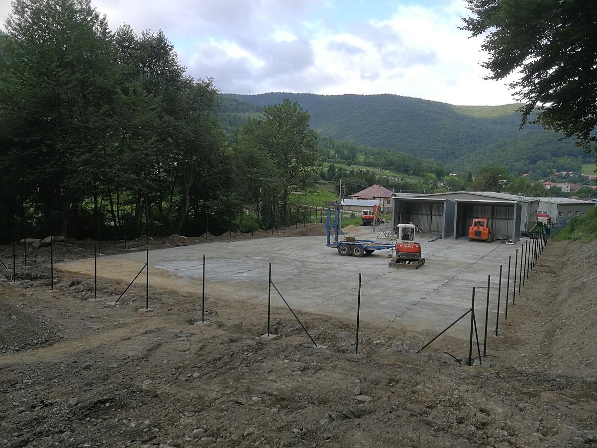 Výstavba zberného dvora