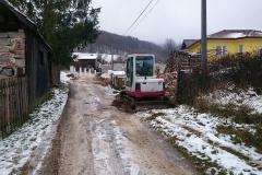 Odvodnenie cesty a výstavba kanála