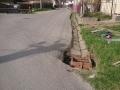 Oprava kanalizačnej vpuste pri hlavnej ceste