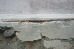 Oprava schodov a výstavba múrika pri mäsiarni