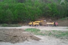 Výstavba futbalového ihriska