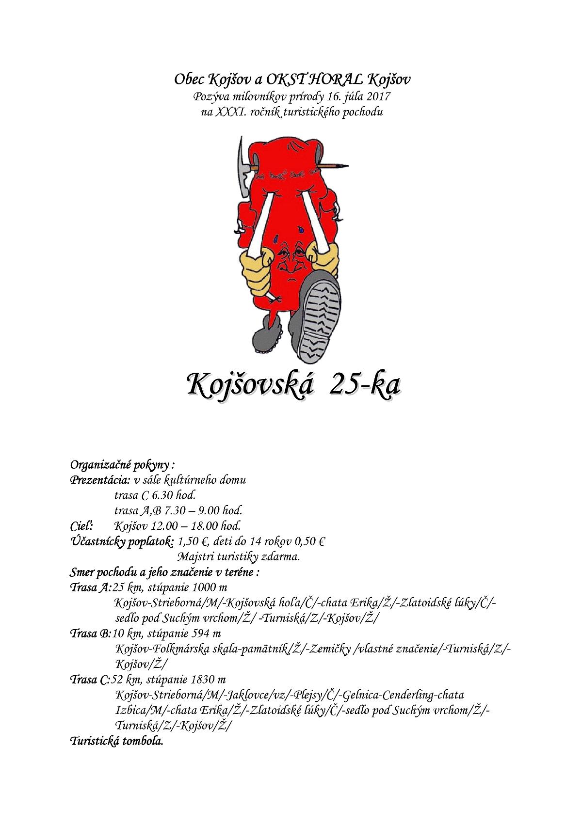 dfb39f51815 Kojšovská 25-ka – Obec Kojšov