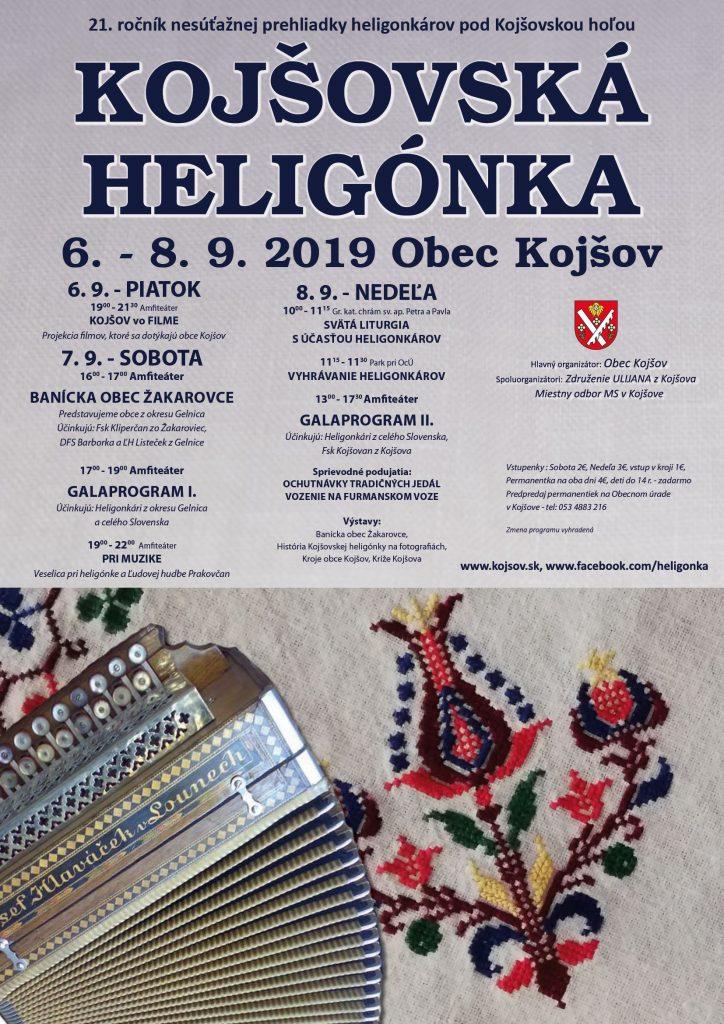 kojšovská heligónka 2019