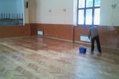 Renovácia parkiet v kultúrnom dome